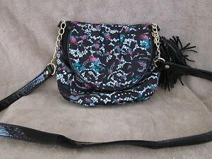 BETSEY JOHNSON Betseyville Femme Rose Lace Tassel Crossbody Handbag Purse NWT