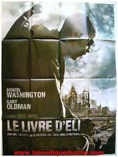 LE LIVRE D'ELI The Book of Eli Movie Poster / Affiche Cinéma DENZEL WASHINGTON