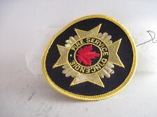 19??    Fire   Service D'Incendie  patch (3m12  27 )--