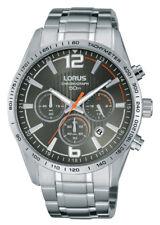Lorus Sports Black Dial Men's Chronograph RT301FX9 RRP £150