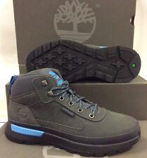 Timberland Field Trekker Low Hiker Dark Grey Mens Boots Shoes, UK 7.5 / EU 41.5