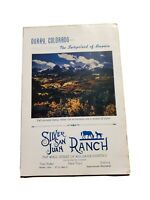 SWITZERLAND OF AMERICA OURAY Colorado VINTAGE PAMPHLET BROCHURE 1956 chamber