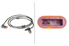 Sensor, Raddrehzahl für Bremsanlage Hinterachse HELLA 6PU 010 039-731