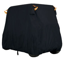 "114"" Golf Cart Waterproof Dust Cover Fits 4 Passenger Vent Cover Roof"