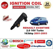 FOR RENAULT AVANTIME 2.0 16V Turbo 163bhp 2001-2003 IGNITION COIL 2PIN CONNECTOR