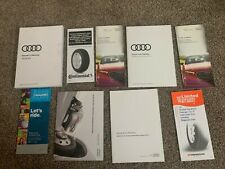 2018 Audi A5 Owners Manual Set with Case (Fits: Audi)