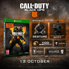 Call of Duty: Black Ops 4 Specialist Edition (Xbox One) - NEW SEALED PAL