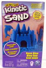 Kinetic Sand 8oz neon blue New