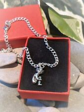 Barefoot Pixie Anklet Ankle Bracelet Handmade Silver Plated. Holiday Bare Feet