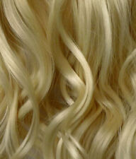 "20"" Clip In ONE PIECE STRAIGHT Hair Extension Light Blonde #613 1pc 100g"