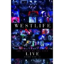 """WESTLIFE """"THE WHERE WE ARE TOUR"""" BLU RAY NEW!"""