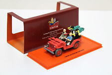 "1:43 Tintin Jeep Willys MB 1943 red ""tim y Tintín"" New en Premium-modelcars"