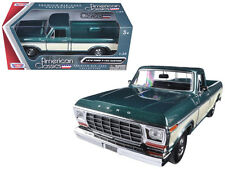 1979 Ford F-150 Green / Cream Pickup 1:24 Scale Diecast Model - 79346AC
