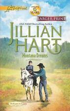 Love Inspired LP: Montana Dreams by Jillian Hart (2012, Paperback, Large Type)