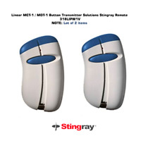 Linear MCT-1 MDT-1 Button Transmitter Solutions Stingray Remote 318LIPW1V Lot 2