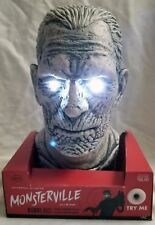 Monsterville The Mummy Talking Light Up Bust Head Universal Monsters Karloff