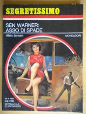 Sen Warner asso di spadeJansen AlainMondadori1968segretissimo233 come nuovo