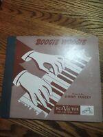 78tk album set-R&B-Jazz-RCA VICTOR-P-25-Boogie Woogie -Jimmy Yancey-3 disc set