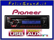 Autoradio Pioneer DEH-S100UBB CD MP3 USB AUX-IN riproduzione WMA/MP3/WAV