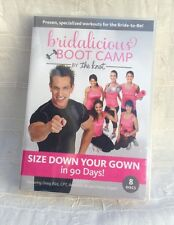 Bridalicious BOOT CAMP Wedding 90 Day Workout 8 DVD Disc Set ~ Factory Sealed!