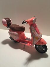 "2002 ""PINK"" Mattel Barbie My Scene Vespa Scooter"