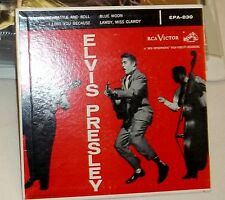 ELVIS PRESLEY RCA EP 830 RACKABILLY EXCELLENT ORIGINAL 1956 60 YEARS OLD