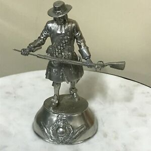Pewter Charles Stadden Soldier Figurine - Royal Marines - 216 gms