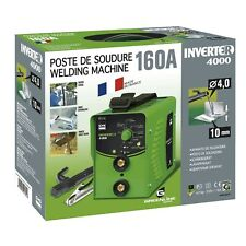 POSTE DE SOUDURE INVERTER 4000 GYS 160A  electrode enrobe mma soude acier inox