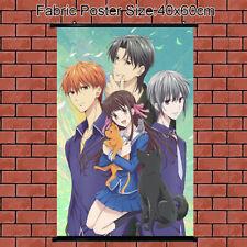 Cloth Poster Wall Scroll Anime Fruits Basket Tohru Honda Soma Hatori 60x40cm