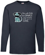 Dog cone señores manga larga T-Shirt Dog Dogs it is All Fun and play until perros perro