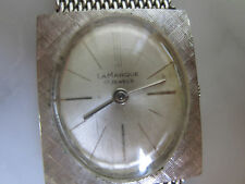 Antique Ladies' Mechanical Swiss made Watch U.S. made Gold plated mesh bracelet
