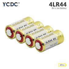 4Pcs 6V 4LR44 Alkaline Battery 4G13 L1325 For Car Remote Dog Training Collar 97