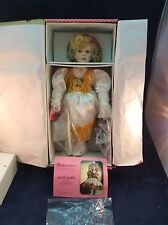 Paradise Galleries Porcelain Cowgirl Doll Delta Dawn - NIB