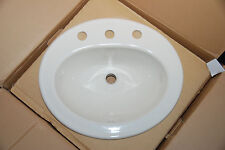 KOHLER K-2196-8-96 Pennington Self-Rimming Lavatory, Biscuit