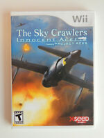 The Sky Crawlers: Innocent Aces Game Complete! Nintendo Wii