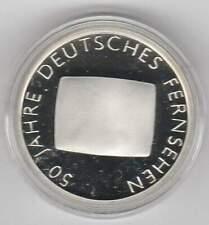 Duitsland 10 euro 2002 G Proof zilver PP: Fernsehen 50 Jahre