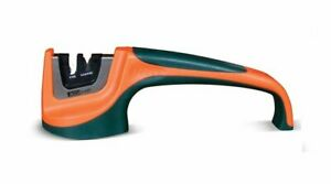 AccuSharp Pull-Through Knife Sharpener, Fine & Coarse, Orange/Green #039C