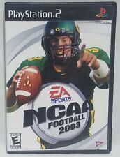 EA Sports NCAA Football 2003 with Manual Ps2