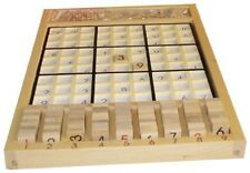 New Sealed- Sudoku Board Wooden Puzzle