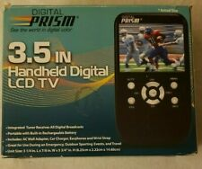 Digital Prism 3.5 In Handheld Portable Digital LCD TV Rechargeable