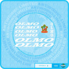 Olmo Bicycle Decals - Transfers - Stickers - Set 2 - White