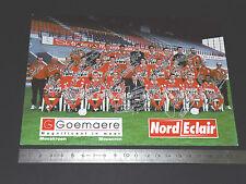 RARE ROYAL EXCELSIOR MOUSCRON 1999-2000 BELGIQUE BELGIË MOESKROEN FOOTBALL CPA