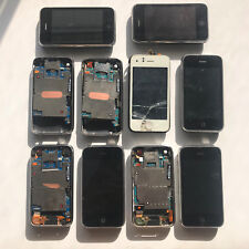 Lot 10x Apple iPhone 3G and 3GS 8GB 16GB Models As Is Parts Repair Untested