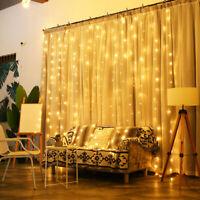 300 LEDS Christmas Lights Copper Fairy String Light Home Xmas Decor Battery