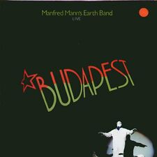 "MANFRED MANN'S EARTH BAND "" LIVE BUDAPEST "" LP SIGILLATO  BRONZE - CGD 1984ITALY"