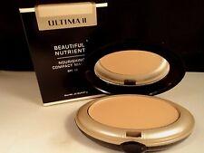 ULTIMA ll BEAUTIFUL NUTRIENT COMPACT MAKEUP HONEY