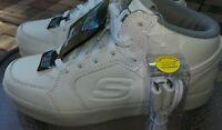 Skechers Energy Lights Size 5 WHITE