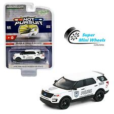 Greenlight 1:64 Hot Pursuit - 2016 Ford Interceptor Utility Bayamon City Police