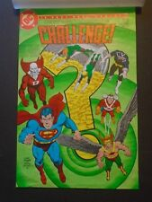 Challenge Color Guide Cover DC by Curt Swan & Terry Austin