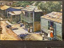 Puerto Rico ca1900-1940s, Vintage Postcard Tarjeta Postal usada/postmarked